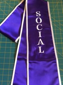 Custom Graduation Stole