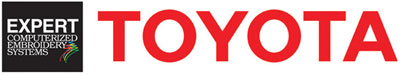 Toyota Embroidery Logo